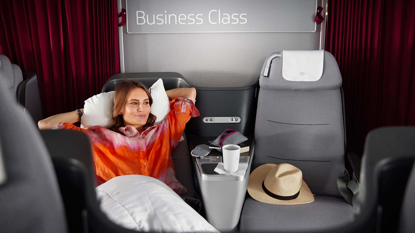 Eurowings Discover Brand Pannels Business Class